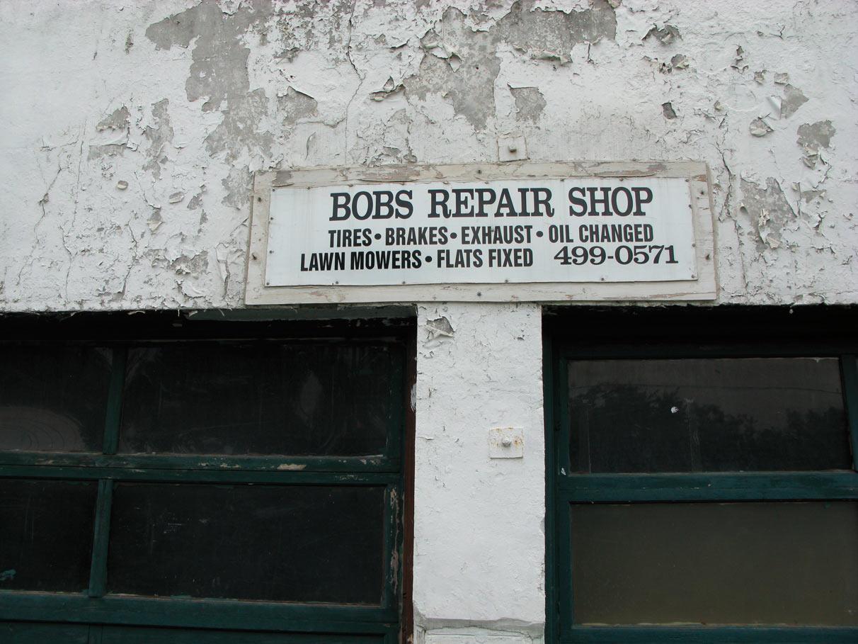 Bobs Repair Shop